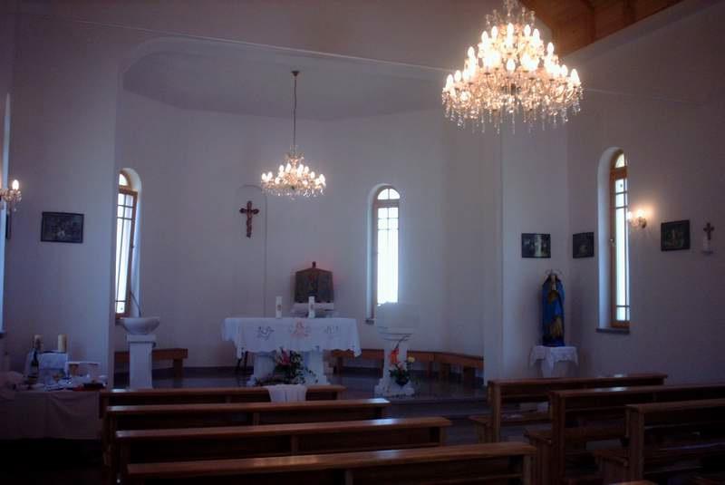 Oltar Crkve Rođenja Blažene Djevice Marije u Sasini