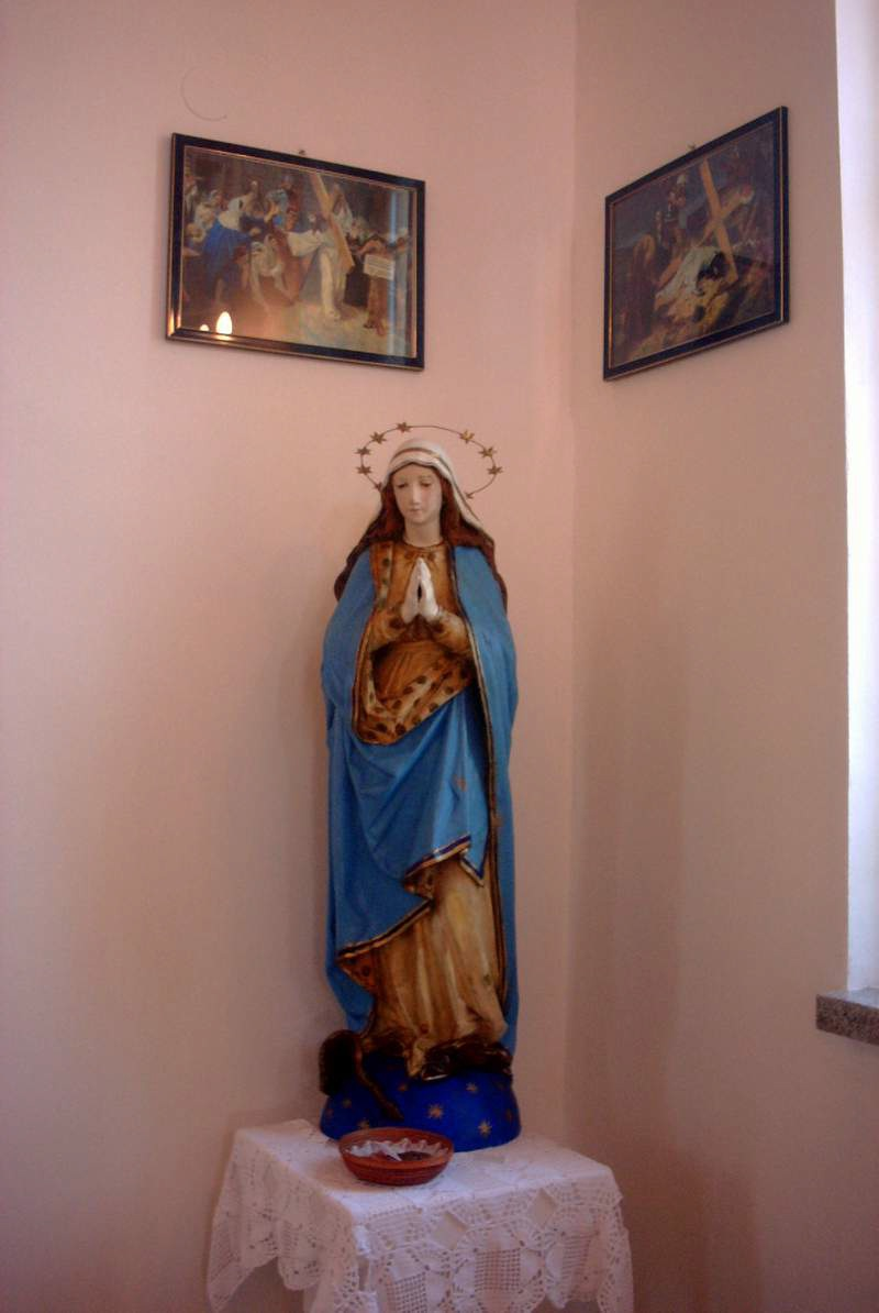 Kip Male Gospe iz porušene crkve ostao je sačuvan